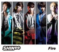 SHINee「Fire」初回限定盤ジャケット
