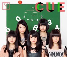 9nine「CUE」初回限定盤Aジャケット