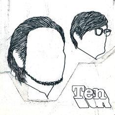 キリンジ「Ten」CD盤ジャケット