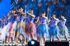 乃木坂46。写真は「乃木坂46 Birthday Live」の模様。