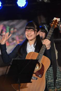 菅なな子(写真は日本テレビ系「SKE48のマジカル・ラジオ3」収録時の様子)