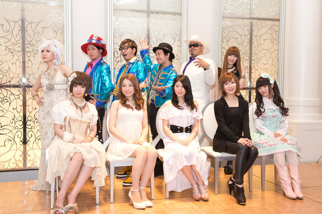本日行われた「Animelo Summer Live 2013 -FLAG NINE-」記者発表会の様子。