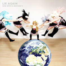 MOE WITH A MISSION Z「LIE AGAIN」ジャケット
