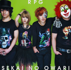 SEKAI NO OWARI「RPG」初回限定盤Aジャケット