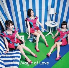 Perfume「Magic of Love」通常盤ジャケット