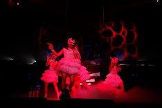 ライブツアー「ももいろクローバーZ JAPAN TOUR 2013『5TH DIMENSION』」の様子。(撮影:上飯坂一)