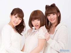 左から中田ちさと、内田眞由美、田名部生来。