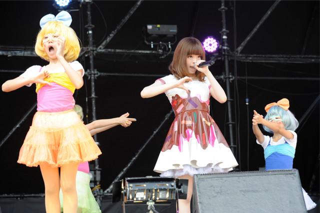 きゃりーぱみゅぱみゅ  (C) Metrock 2013