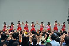 私立恵比寿中学「春のとんでんツアーファイナル ~始まりを覚えていますラララ~」の様子。