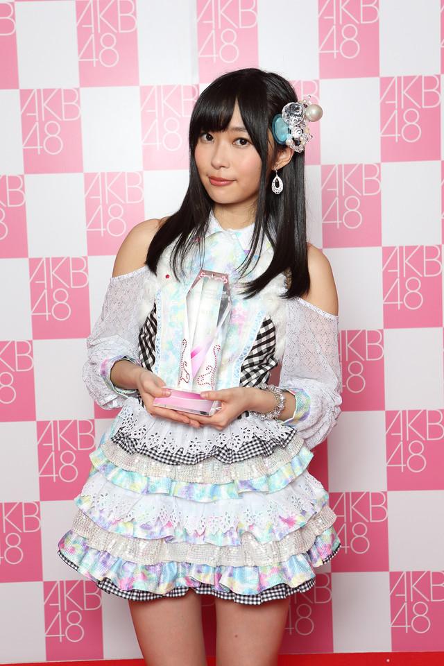 「AKB48 32ndシングル」のセンターに決定したHKT48指原莉乃。(c)AKS