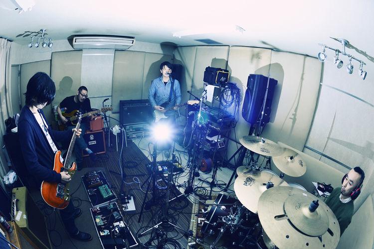 the band apart×LITE、3月TSUTAYA O-WESTでツーマン - 音楽ナタリー