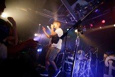 ライブ当日に18歳の誕生日を迎えたPAGE。