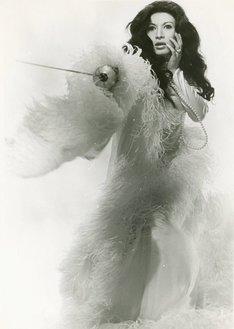 映画「黒蜥蜴」出演時の美輪明宏(公開当時は丸山明宏)。 (c)1968 松竹株式会社