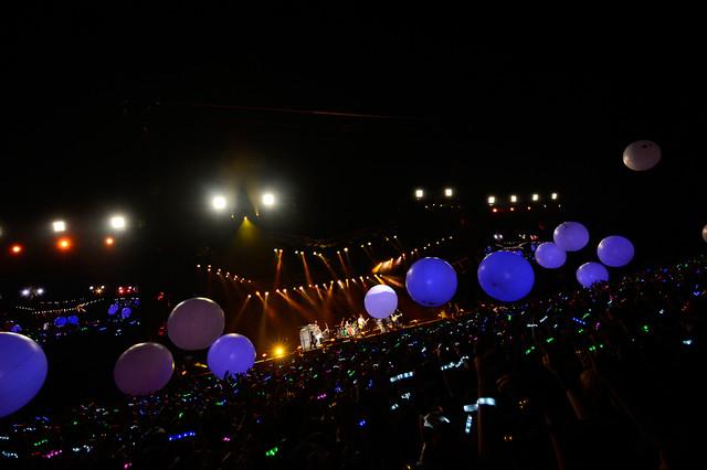 BUMP OF CHICKENが8月9日に千葉・QVCマリンフィールドで行ったスタジアムライブの様子。(撮影:TEPPEI)