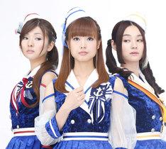 Trident(写真左から沼倉愛美、渕上舞、山村響)