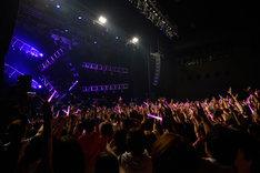 ナノ「Color my world.」東京・Zepp DiverCity TOKYO、8月19日公演の様子。(撮影:小林修士)
