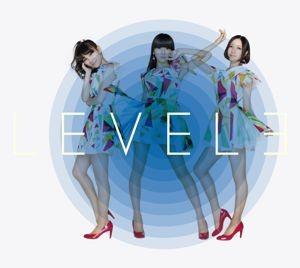 Perfume「LEVEL3」初回限定盤ジャケット