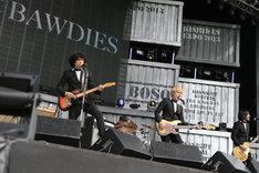 THE BAWDIES(撮影:小川舞、青木カズロー)