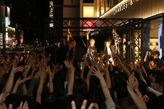 本日9月20日に行われたSuGサプライズライブの様子。