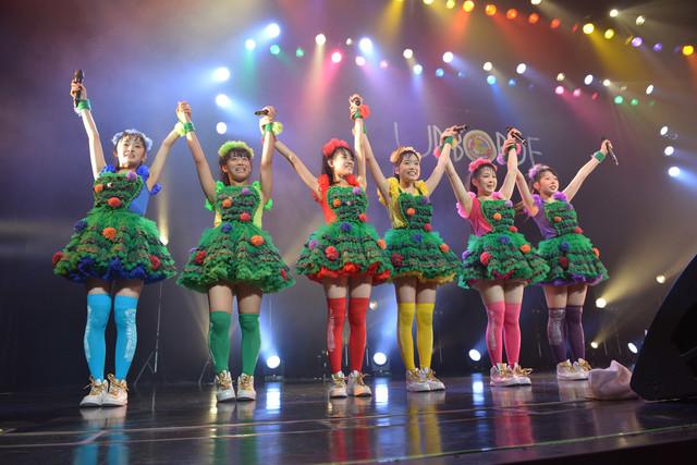 「チームしゃちほこ ZeppZeppBLITZ」横浜BLITZ公演第2部の様子。