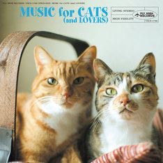 V.A.「猫と音楽の蜜月」ジャケット