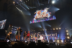 「GirlsAward 2013 AUTUMN / WINTER」の様子。