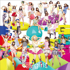 E-girls「ごめんなさいのKissing You」CD+DVD盤ジャケット