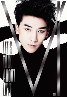 V.I「LET'S TALK ABOUT LOVE」CD+DVD初回限定盤ジャケット