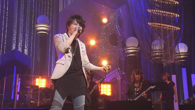 NHK総合「オンガクジェネレーション」T.M.Revolutionの歌唱シーン。