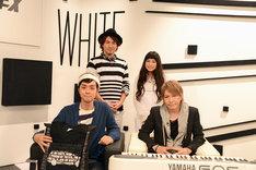 「WISH presents 白黒歌合戦 #6」収録直後の様子。