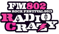 「FM802 ROCK FESTIVAL RADIO CRAZY」ロゴ
