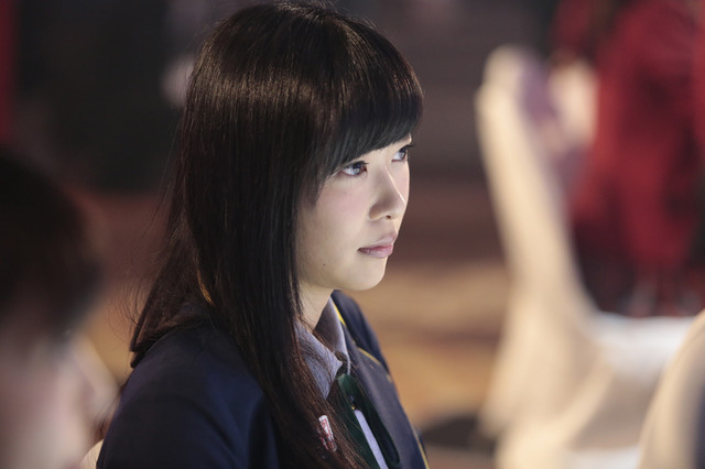 「AKB48グループ ドラフト会議」でステージを見つめる指原莉乃。(c)AKS