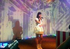 11月9日、2.5Dスタジオの2.5周年イベントにシークレット参加した東京女子流の小西彩乃。