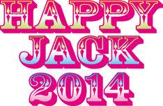 「HAPPY JACK 2014」ロゴ