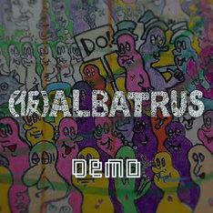 (仮)ALBATRUS「DEMO」配信ジャケット
