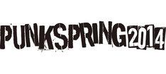 「PUNKSPRING 2014」ロゴ