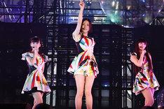 3年ぶりに東京ドームのステージに立ったPerfume。
