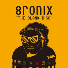 8ronix「THE BLANK DISC」ジャケット
