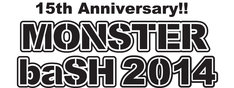 「MONSTER baSH 2014」ロゴ