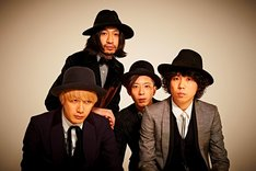 THE BAWDIES(左端がROY)