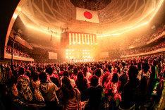 """「怒髪天結成30周年記念日本武道館公演""""ほんと、どうもね。""""」の様子。"""