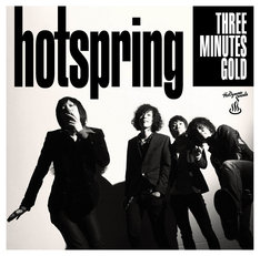 hotspring「THREE MINUTES GOLD」ジャケット