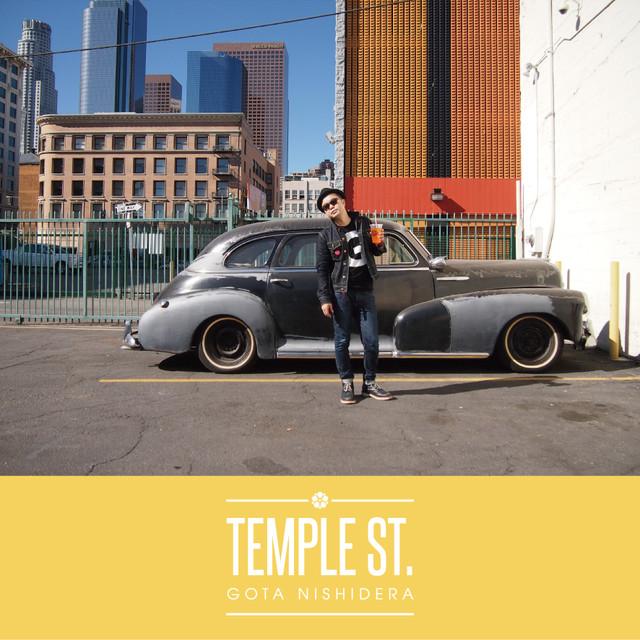 GOTA NISHIDERA「Temple St.」ジャケット
