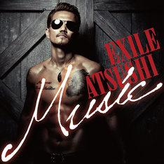 EXILE ATSUSHI「Music」2CD+2DVD盤ジャケット