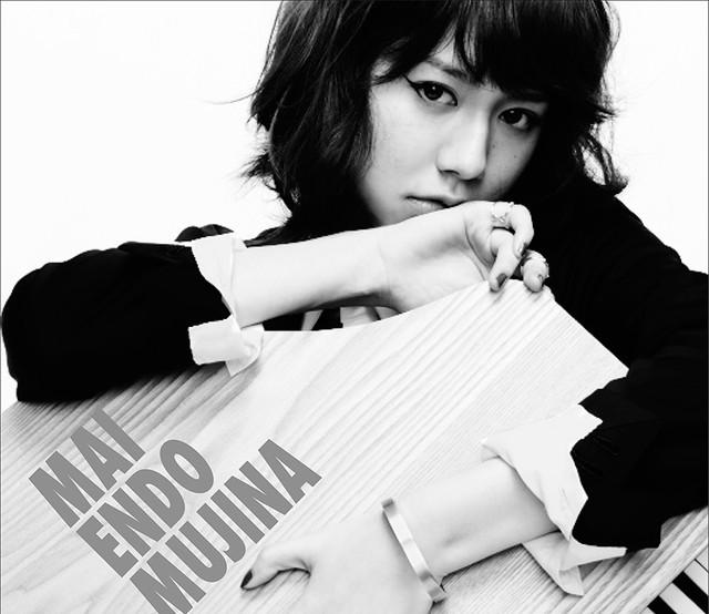 遠藤舞「MUJINA」CD盤ジャケット