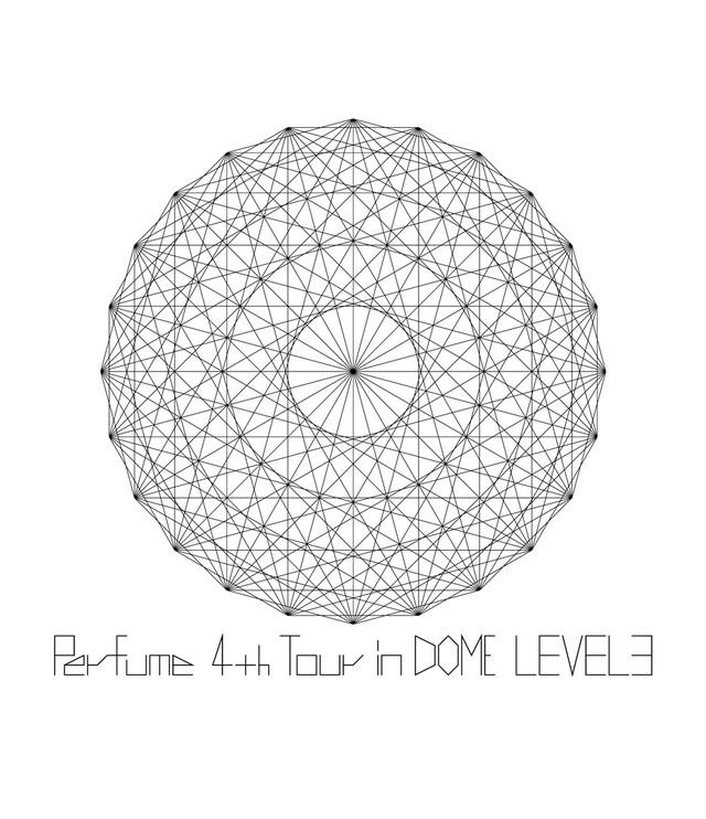 4月9日に発売されたPerfumeのライブ映像作品「Perfume 4th Tour in DOME『LEVEL3』」Blu-ray通常盤ジャケット。