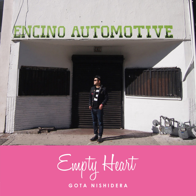 GOTA NISHIDERA「Empty Heart」ジャケット