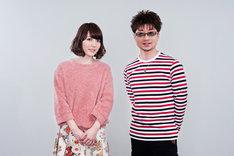 ナタリーPower Pushでは花澤香菜の2ndアルバム「25」の発売を記念した特集ページを公開中。写真左から花澤香菜、北川勝利。