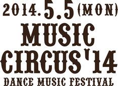 「MUSIC CIRCUS '14」ロゴ