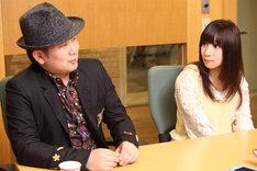 左から斎藤悠弥、大島はるな。